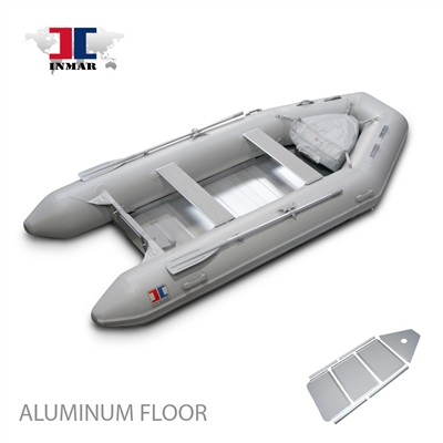 "INMAR, 290, TS, 9'6"" aluminum Floor, Tender, Inflatable, Boat"
