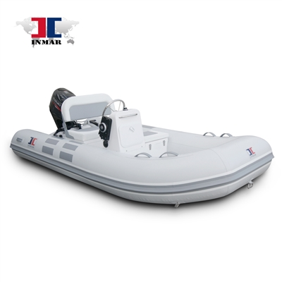 INMAR 360R-YS luxury rigid tender boat, inflatable, console kit