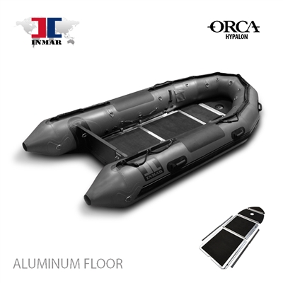 INMAR-380-PT-HYP-ST aluminum floor-Military-Series-Inflatable-Boat-Hypalon