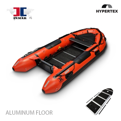 inmar, 380 aluminum floor, dive and rescue inflatable boat