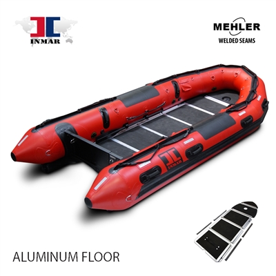 INMAR-470-MIL-HD-ST aluminum floor-Military-Patrol-Series-Inflatable-Boat-welded-seams
