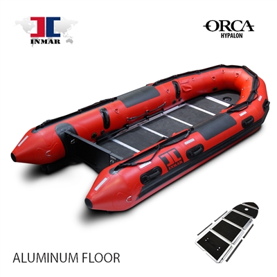 INMAR-470-SR-HYP aluminum floor-Military-Series-Inflatable-Boat-hypalon-search-rescue