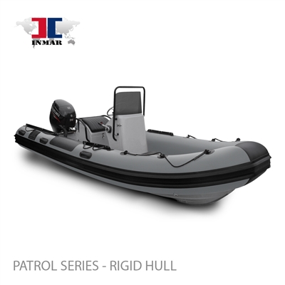"520R-PT (17'6"") Patrol Series (Rigid Hull) Inflatable Boat w/ Suzuki 70hp"