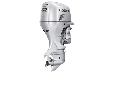 "Honda 200 hp, BF200K2XCA, 4-stroke, 25"" - Electric Start  - Remote Steering - Power trim and tilt  - Counter Rotation"