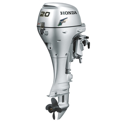 "Honda 20 HP, BF20D3SRT, 4-stroke, 15"", Electric Start, Remote Steering"