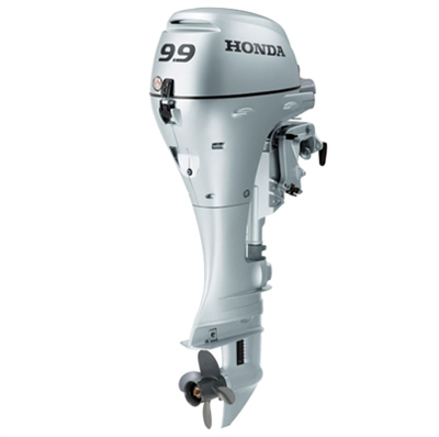 "Honda 9.9 HP, BFP10D3XRT, 4-stroke, 25"", Electric Start, Remote Steering, Power Thrust Design"