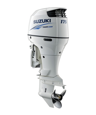"Suzuki 175hp DF175TL, 4-stroke, 20"" Long Shaft - Electric Start - Remote Steering"