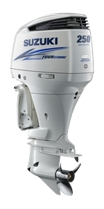 "Suzuki 250hp DF250APXW, 4-stroke, 25"" Extra Long Shaft - Electric Start - Remote Steering - Select Rotation - PTT"