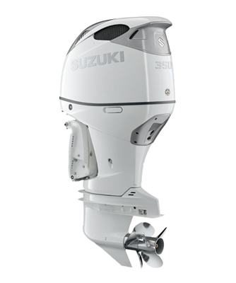 "Suzuki 350hp DF350ATXW, 4-stroke, 25"" Long Shaft - Electric Start - Remote Steering - Select Rotation - PTT"