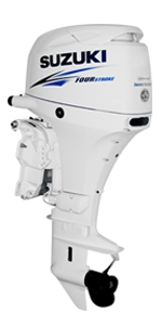 "Suzuki 40hp DF40ATLW, 4-stroke, 20"" Long Shaft - Electric Start - Remote Stering"