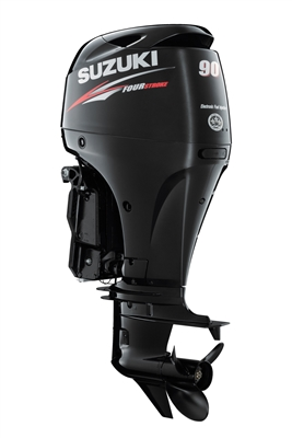 "Suzuki 90hp DF90ATL, 4-stroke, 20"" Long Shaft - Electric Start - Remote Stering"